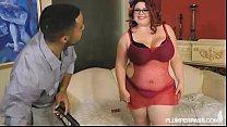 PinUp BBW Slut Trinety Fucks Big Black Cock First XXX Scene