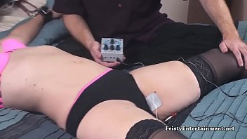 Lisa Harlotte Wired to a TENS Unit 2 - Feisty.XXX
