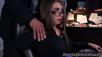 Stressed Bunny Freedom mouth massages cock 8 min