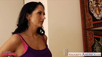 Horny mom Ava Addams gets big jugs fucked