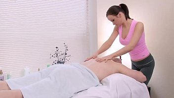 Stud Gets Some Extra During Janessa's Massage
