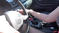 GoFuck69.com - Pedal Pumping Orgasm - Black Audi - Carli Evelyn