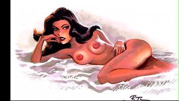 Sexy Girls Drawn by Bruce Timm aka Artist of Batman TAS