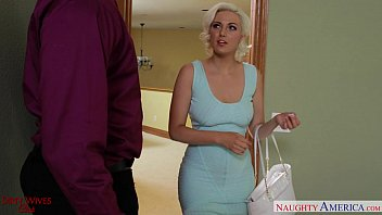 Blonde wife in stockings Jenna Ivory fucking 8 min