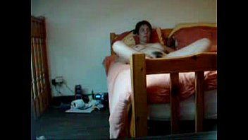 My lovely mom masturbating on bed caught by hidden cam