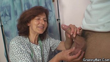 Sewing granny takes cock 6 min
