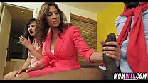 Interracial 3some with mom 19 5 min