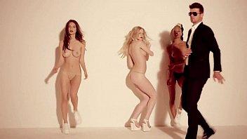 Blurred Lines: A Porn Music Video Parody