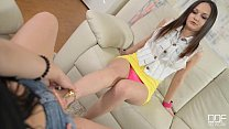 Anina Silk and Taylor Sands Lesbian foot fetish action!