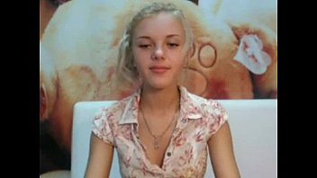 Stunning teen showing off her tanlines on camfivestar.com