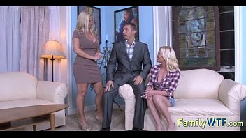Mom and daughter threesome 1250