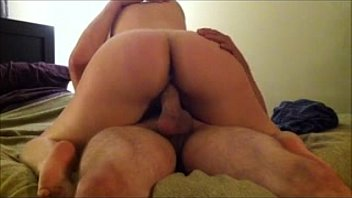 Wife Rides Her Husband to Orgasm - Creams his Dick