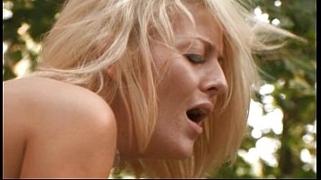Two Swedish Blonde MILFS takes it in the ASS Outdoors