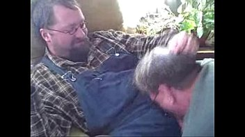Cigar Daddy Top Gets His Cock Sucked by Old Man