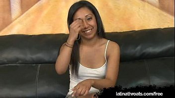 Leslie Sierra Slobbers On Gringo Dick