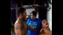 Corno assite a foda  e manda bater no rabo da  esposa