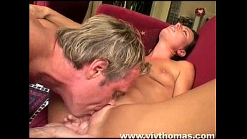 She gets her pussy licked until orgasm