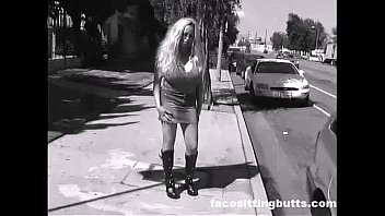 Street whore making a living