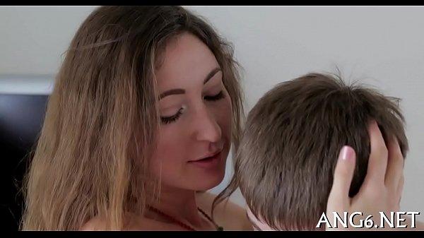 Erotic vagina savouring
