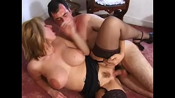 Big titted English Milf Josephine James with big dildo and gets one up the arse 21 min