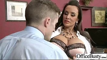 Office Sex Tape With Slut Worker Busty Girl vid-25