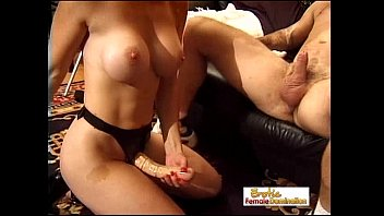 Bossy Cougar Pegs Her Man With A Big Strap-on