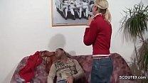 Daddy Seduce Petite German Step-Daughter to Fuck