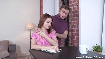 Sell Your GF - Coed Nora Star fucked for student loan teen porn 7 min