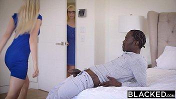 BLACKED Stepsisters Trillium and Niki Snow First Interracial 11 min