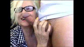 Sexy Foot School Teacher Sucks Dick
