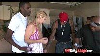 Interracial Gang Bang 004