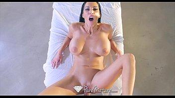 PureMature - Big boobs milf Veronica Rayne gets fucked