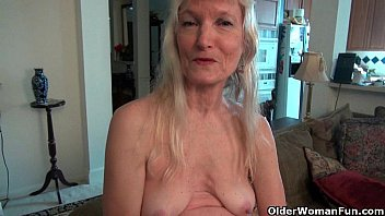 Grandma Claire's old pussy needs some attention