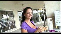 Hot Brunette MILF 02