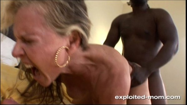 Blonde Milf gets her Back Blown Out by a Big Black Cock Interracial Video