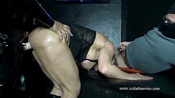 Muscle Milf is used hard in Danish sexclub
