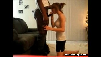 Black Stud Gives White Girl a Workout