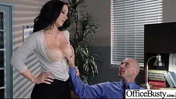Busty Office Girl (jayden jaymes) Get Busy In Hardcore Sex Scene clip-21