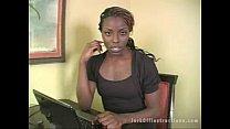 Ebony Seductress teaches you how to jerk off - DamnCam.net