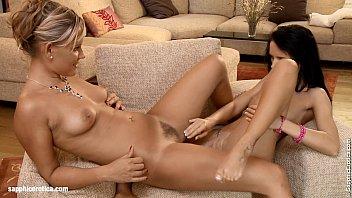 Elegant Lovers - by Sapphic Erotica lesbian sex with Regina Ginie 19 min