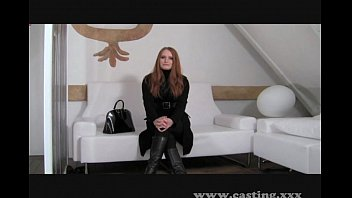 Casting - Redhead is ready to go all the way
