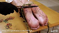BAREFOOT ANGELICA TORMENT day 4 (red hot iron)