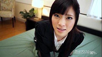 Hot office babe Sara Yurikawa nasty porn play