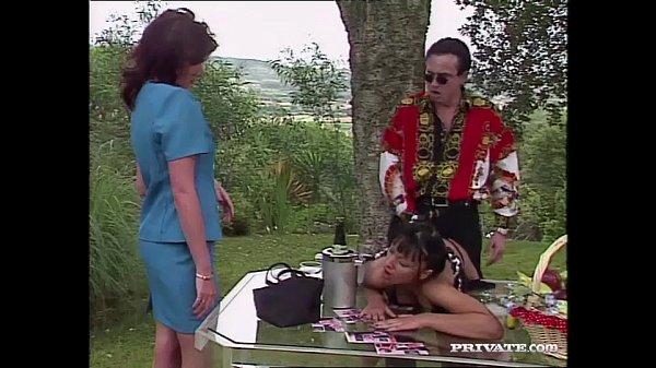 Carmen Enjoys Sex in the Garden