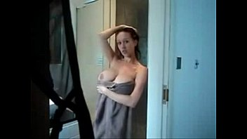 Mommy in shower