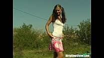 Outdoor Bicycle Picnic Fuck With Stepsister