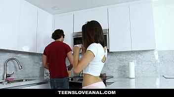TeensLoveAnal - Brunette Teen (Eden Sinclair) Fucked In The Ass