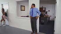 Teen Victoria Valencia Sucking Dick In The Office