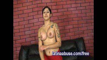 Latina Lesbo Deepthroats Two Dicks