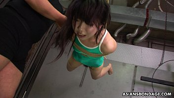 Asian freak tied up to be sexually t. by some pervs